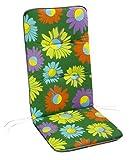 BEST Sesselauflage Monoblockissen nieder, bunt, 80 x 43 x 5 cm, 5081779
