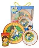 Zak Designs Go Diego Go 3-Piece Childrens Set