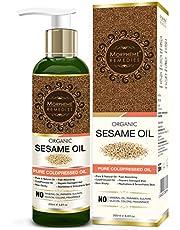 Morpheme Remedies Organic Sesame Oil Pure ColdPressed Oil F