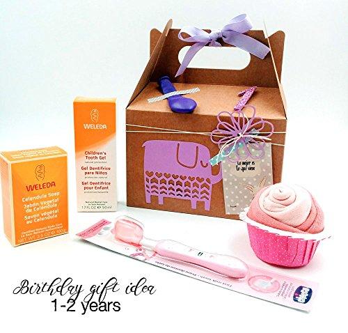 set-di-prodotti-weleda-bio-pink-vip-birthday-box-regalo-per-bimbi-di-1-anno-e-2-anni-perfetto-per-co