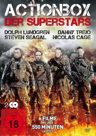 Actionbox der Superstars (6 Filme) [2 DVDs]