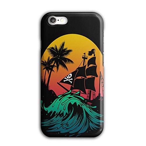 Pirat Schiff Sturm Sonne Ozean iPhone 8 Hülle   Wellcoda