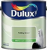 Peinture Dulux couleur lait d'amande - 5L, vert, 500007