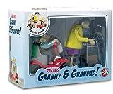 Rennen Oma und Opa, Aufziehspielzeug, Kunststoff, 2er Set - 2