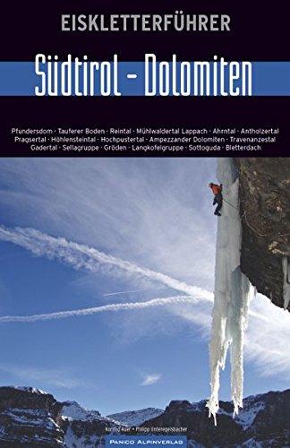 """Eiskletterführer """"Südtirol-Dolomiten"""""""