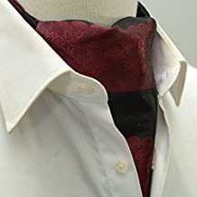 QIANGDA Hommes Cravate Foulard Écharpe Col De Chemise Écharpe d affaires,  45,7 0e479e3d1d3