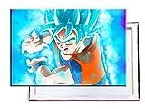 Goku In Dragon Ball Super - 100x70 cm - Bilder & Kunstdrucke fertig auf Leinwand aufgespannt und in erstklassiger Druckqualität