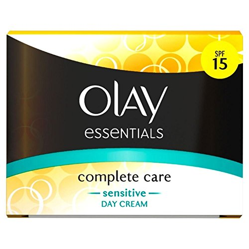 Olay Complete Care Sensitive Crème de jour uv SPF 15 (50 ml) – Lot de 2