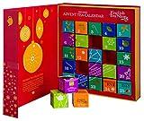 English Tea Shop - Tee Adventskalender 'Teebuch Rot'; 25 einzelne Boxen mit Tees in hochwertigen Pyramiden-Teebeutel