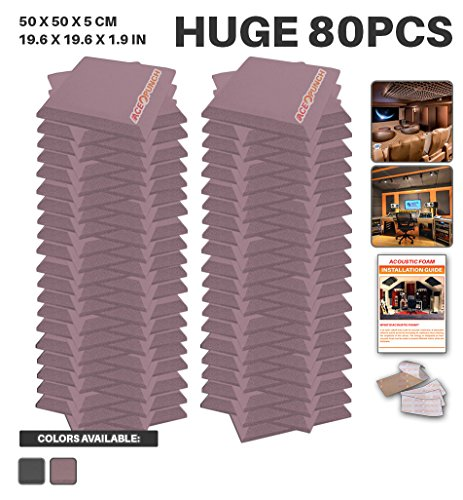 ace-punch-80-paquet-bourgogne-plat-biseau-tuile-insonorisation-sonorisation-absorbeur-traitement-mou