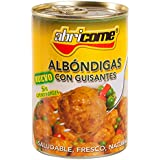 Abricome - Albóndigas con guisantes - Saludable, fresco, natural - 420 g - [Pack de 3]