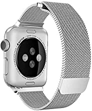 Milanese Loop for Apple Watch 40mm 38mm, Stainless Steel Alloy Replacement Watch Band for iWatch Series 4/3/2/