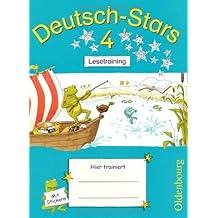 Deutsch-Stars 4: Lesetraining von Scholtes, Cornelia (2010) Broschiert