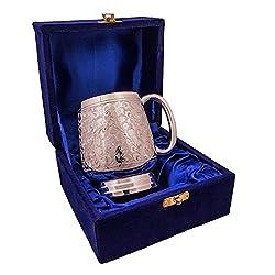 Adidev Brass silver juice glass