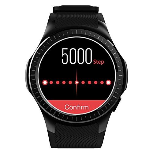 Kivors Reloj Inteligente L1 Bluetooth Smartwatch 1.3 Pulgadas Redondo HD IPS Pantalla Soporte SIM/TF...