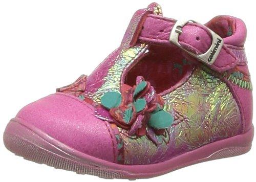 Catimini Callune, Chaussures premiers pas bébé fille Rose (47 Ctv Fushia Dpf/Gluk)