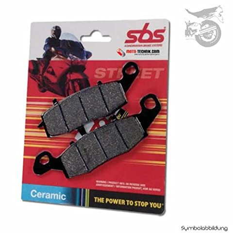 SBS Brake Pads Rear–RF Ceramic Ducati 750SS, Nuda Build Date