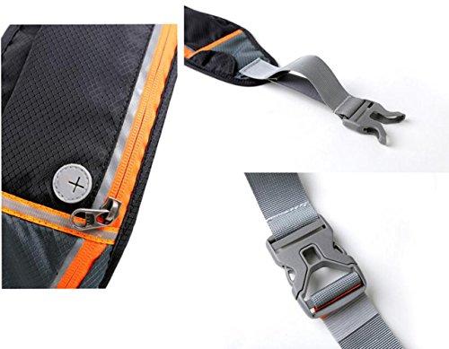 OOFWY Sport Running Bag Waist Pack Bum Tasche Outdoor Camping D