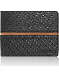 Laurels Cross II Black Men's Wallet (LW-CRS-II-0206)