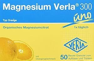 Magnesium Verla Granulat 300 mg, 50 Stück