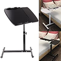 MultiWare Laptop Desk Adjustable Portable Stand Laptop Table For Sofa Bed Black