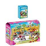 PLAYMOBIL® City Life 2er Set 5573 9079 Zwillingskinderwagen + Babyausstatter