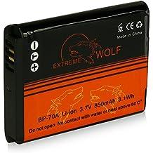 Power Batteria EA-BP70A / EA-BPP70A per Samsung Digimax AQ100 | DV150F | ES65 | ES67 | ES70 | ES71 | ES73 | ES74 | ES75 | ES78 | ES80 | ES81 | ES90 | ES91 | PL20 | PL21 | PL80 | PL81 | PL90 | PL91 | PL100 | PL101 | PL120 | PL121 | PL170 | PL171 | PL200 | PL201 | SL50 | SL600 | SL605 | SL630 | ST30 e più…