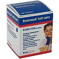 Elastomull haft color Fixierbinde,4 m x 6 cm, blau preisvergleich bei billige-tabletten.eu