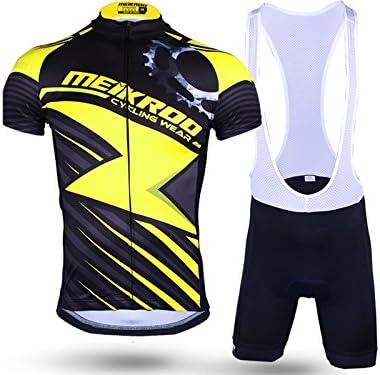 ADream Tuta da Ciclismo da Uomo    Pantalone con Imbracatura 3D Imbracatura Traspirante e Asciugatura Rapida Lightning M (Coloreee   Lightning, Dimensione   L) | Folle Prezzo  | Qualità E Quantità Garantita  8e9846
