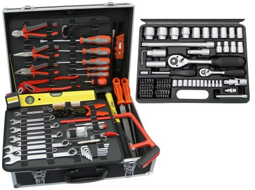 Famex 752-50 Universal Werkzeugkoffer mit Steckschlüsselsatz
