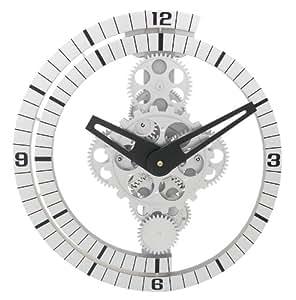 Splendido Orologio da Parete Muro con Ingranaggi a Vista DynaSun GCL06-37