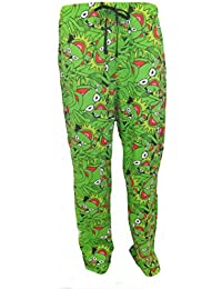 Disney Les Muppets Kermit Pants Mens Lounge