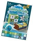 folia 550401 - Kreativblock Kerala DIN A420, Blatt sortiert