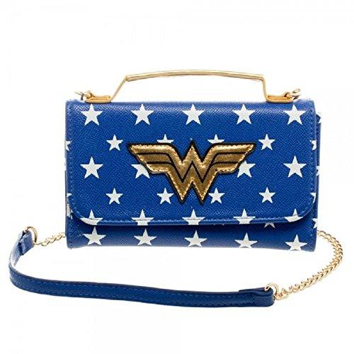 Officiel de Wonder Woman Inside Out Cross Body embrayage sac à main pochette sac de soirée