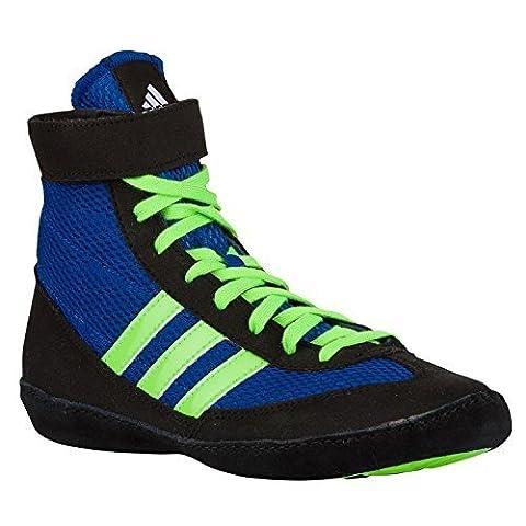 Chaussures de lutte adidas Combat Speed 4 bleu T/44