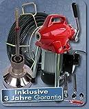 Rohrreinigungsgeräte MINI Power 75 inkl. Spiralenschutzschlauch