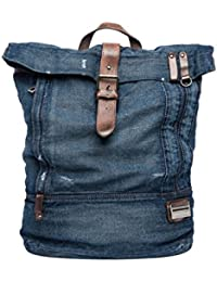Replay Men's Men's Blue Denim Backpack