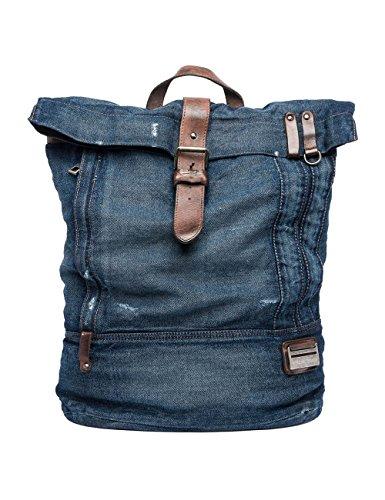 Replay Mens Mens Blue Denim Backpack Blue Descuentos En Línea Envío Libre Con La Tarjeta De Crédito Descuento En Línea Buena Venta HCuJfPKUp
