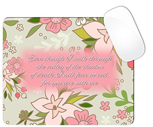 salmo-23-4-versiculo-de-la-biblia-de-flores-con-luz-rosa-y-crema-colores-raton-pad-cuadrado