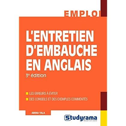 Entretien d'Embauche en Anglais (l') 3 Édition