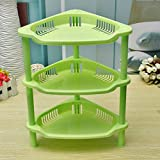 #7: TIED RIBBONS 3 Layer Space Saving Storage dressing table Organizer Rack Shelf With Wheels For Kitchen,Bathroom & Bedroom