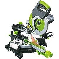 Evolution FURY3XL - Sega a linguetta radiale 255 mm 2000 W, colore: Verde