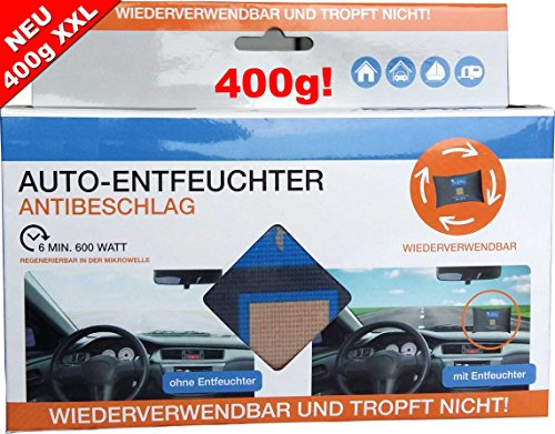 Preisvergleich Produktbild Lafita Autoentfeuchter Auto Entfeuchter Granulat Luftentfeuchter XL 400g