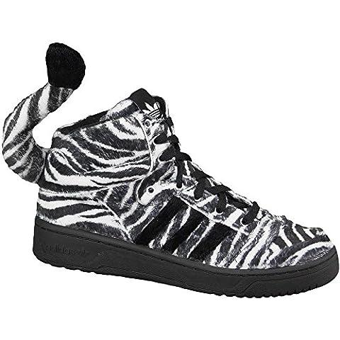 Adidas Originals by Jeremy Scott Obyo JS Zebra Schuhe G95749