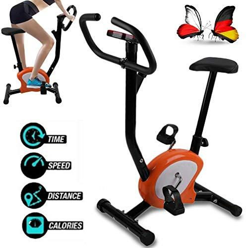 Gusaman Fitnessfahrrad Heimtrainer Fitnessbike Trimmrad Hometrainer Ergometer Fahrrad !K@#144