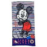 TELO Mare Topolino Mickey Mouse Disney Asciugamano Poliestere MICROCOTONE CM. 140X70 - SE4195/2