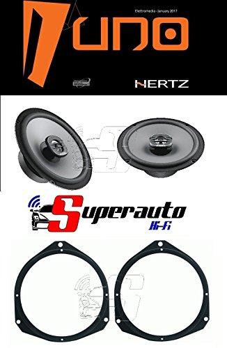 hertz-linea-uno-altoparlanti-coassiali-da-165-mm-x165-220-w-supporti-casse-fiat-punto-evo-e-punto-da
