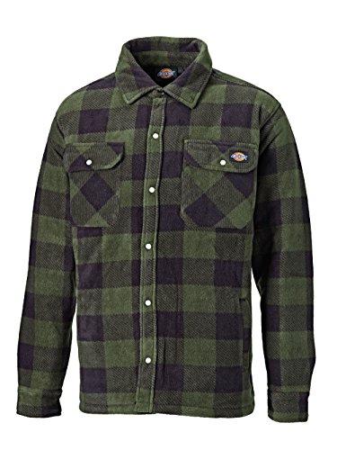 Dickies Thermohemd Portland Dickies Holzfällerhemd Grün Gr. L -