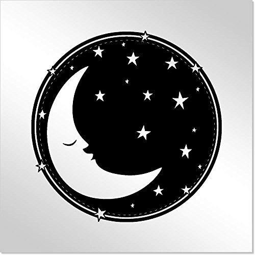 10cm 'Cielo Nocturno' Espejo de Acrílico Decorativo (MT00004263)