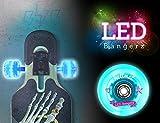 Hellmet LED Bangerz - Longboard LED Rollen - Longboard LED Wheels - NEU - Blau - High Quality